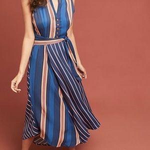 NEW Anthropologie Maeve Striped Dress